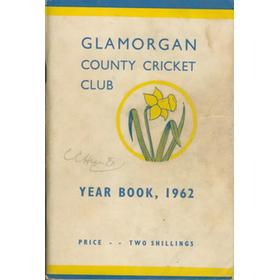 GLAMORGAN COUNTY CRICKET CLUB YEAR BOOK 1962