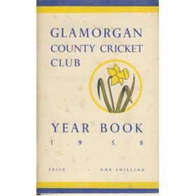 GLAMORGAN COUNTY CRICKET CLUB YEAR BOOK 1958