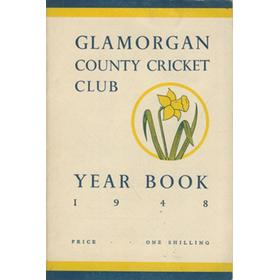 GLAMORGAN COUNTY CRICKET CLUB YEAR BOOK 1948