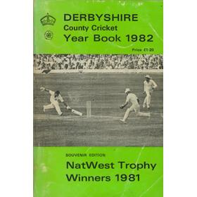 DERBYSHIRE COUNTY CRICKET YEAR BOOK 1982