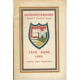 GLOUCESTERSHIRE COUNTY CRICKET CLUB YEAR BOOK 1960