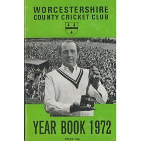 WORCESTERSHIRE COUNTY CRICKET CLUB YEAR BOOK 1972