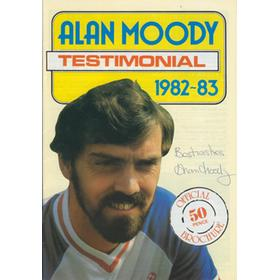 ALAN MOODY (SOUTHEND UNITED) TESTMONIAL BROCHURE 1982-83