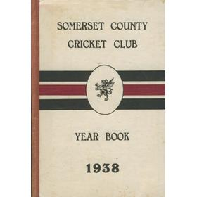 SOMERSET COUNTY CRICKET CLUB YEARBOOK 1938