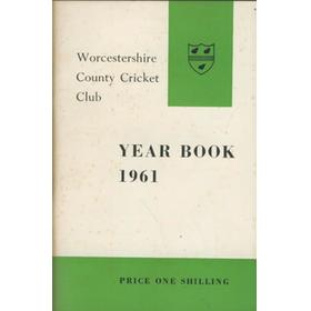 WORCESTERSHIRE COUNTY CRICKET CLUB YEAR BOOK 1961