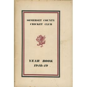 SOMERSET COUNTY CRICKET CLUB YEARBOOK 1948-49