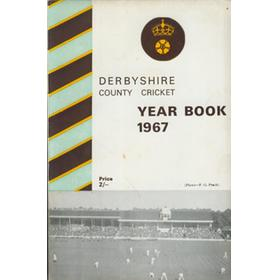 DERBYSHIRE COUNTY CRICKET YEAR BOOK 1967