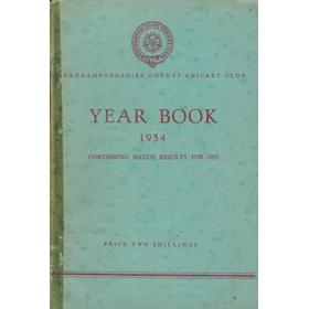NORTHAMPTONSHIRE COUNTY CRICKET CLUB 1954 YEAR BOOK