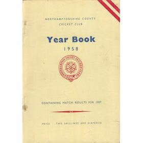 NORTHAMPTONSHIRE COUNTY CRICKET CLUB 1958 YEAR BOOK