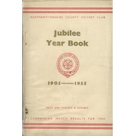 NORTHAMPTONSHIRE COUNTY CRICKET CLUB 1955 JUBILEE YEAR BOOK