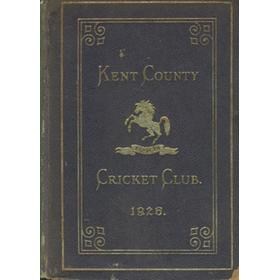 KENT COUNTY CRICKET CLUB 1926 [BLUE BOOK]