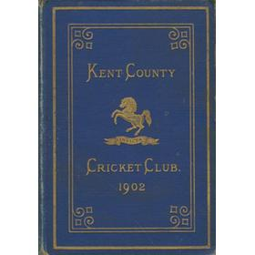 KENT COUNTY CRICKET CLUB 1902 [BLUE BOOK]