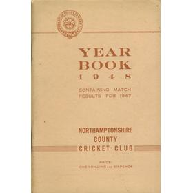 NORTHAMPTONSHIRE COUNTY CRICKET CLUB 1948 YEAR BOOK
