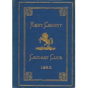 KENT COUNTY CRICKET CLUB 1920 [BLUE BOOK]