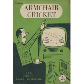 ARMCHAIR CRICKET