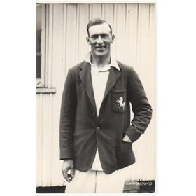 ALBERT CHARLES WRIGHT (KENT) CRICKET POSTCARD