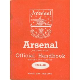 ARSENAL FOOTBALL CLUB 1957-58 OFFICIAL HANDBOOK