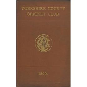 YORKSHIRE COUNTY CRICKET CLUB 1899 [ANNUAL]