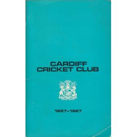 CARDIFF CRICKET CLUB 1867–1967