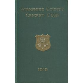 YORKSHIRE COUNTY CRICKET CLUB 1919 [ANNUAL]