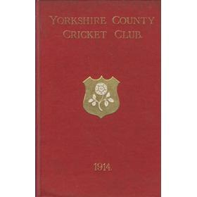 YORKSHIRE COUNTY CRICKET CLUB 1914 [ANNUAL]