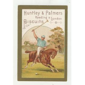 HUNTLEY AND PALMERS BISCUITS TRADE CARD C. 1880 - POLO