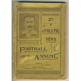 ATHLETIC NEWS FOOTBALL ANNUAL 1905-1906