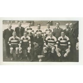 CARDIFF RUGBY FOOTBALL CLUB 1939 POSTCARD