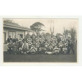 CARDIFF RUGBY FOOTBALL CLUB 1930S POSTCARD