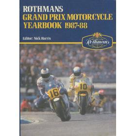 ROTHMANS GRAND PRIX MOTORCYCLE YEARBOOK 1987-88