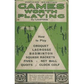 POPULAR SPORTING GAMES WORTH PLAYING
