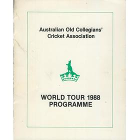 AUSTRALIAN OLD COLLEGIAN