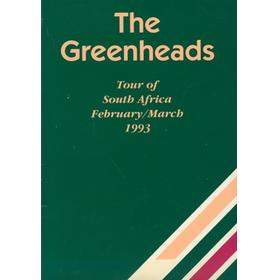 THE GREENHEADS (OLD TONBRIDGIANS AND CHARTERHOUSE FRIARS) CRICKET TOUR OF SOUTH AFRICA 1993 BROCHURE