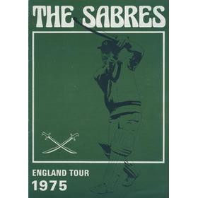 THE SABRES (CAPE TOWN) CRICKET TOUR TO ENGLAND 1975 BROCHURE