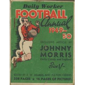 DAILY WORKER FOOTBALL ANNUAL 1949-50