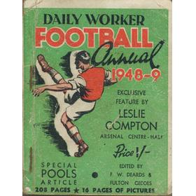 DAILY WORKER FOOTBALL ANNUAL 1948-49