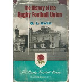 THE HISTORY OF THE RUGBY FOOTBALL UNION