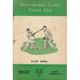 WORCESTERSHIRE COUNTY CRICKET CLUB YEAR BOOK 1957