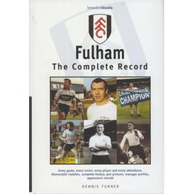 FULHAM - THE COMPLETE RECORD