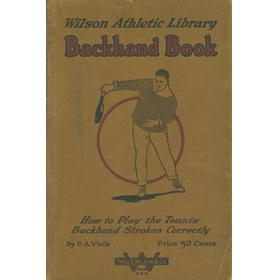 BACKHAND BOOK