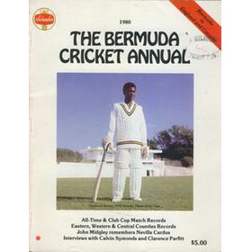 THE BERMUDA CRICKET ANNUAL 1980