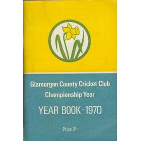 GLAMORGAN COUNTY CRICKET CLUB YEAR BOOK 1970