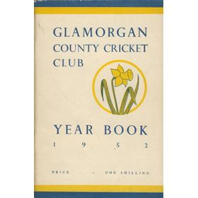 GLAMORGAN COUNTY CRICKET CLUB YEAR BOOK 1952