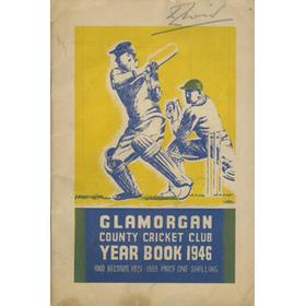 GLAMORGAN COUNTY CRICKET CLUB YEAR BOOK 1946
