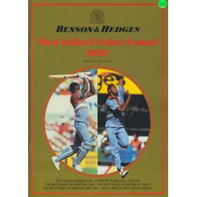 BENSON & HEDGES WEST INDIES CRICKET ANNUAL 1987