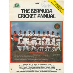 THE BERMUDA CRICKET ANNUAL 1984