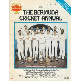 THE BERMUDA CRICKET ANNUAL 1981