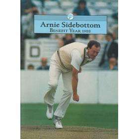 ARNIE SIDEBOTTOM (YORKSHIRE) 1988 BENEFIT BROCHURE