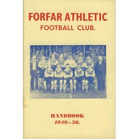 FORFAR ATHLETIC F.C. YEAR BOOK 1949-50