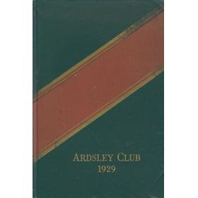 ARDSLEY COUNTRY CLUB 1929 HANDBOOK (GOLF)